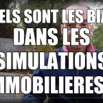 Erreurs et approximations dans les simulations immobilier