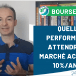 Rendement des actions en bourse